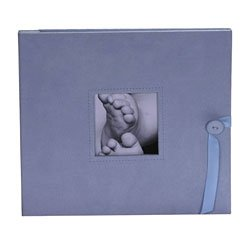 aimeej Little Days Baby Photo Album in Baby Blue - 1