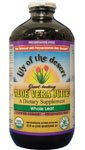 Aloe Vera Juice Organic Whole Leaf No Preservatives Lily Of The Desert 32 oz Liq