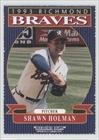 Shawn Holman (Baseball Card) 1993 Richmond Braves Bleacher Bums #14 by Richmond Braves Bleacher Bums