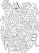 Artool Freehand Airbrush Templates, Tikki Master- Freakin' Tikis
