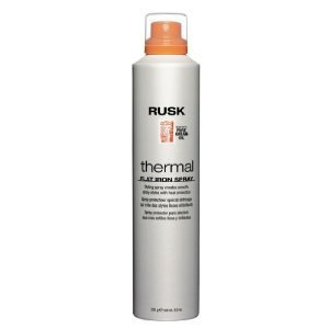 Rusk Thermal Flat Iron Spray  Pure Argan Oil,