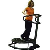 Trampoline Workout Reviews: Mini Exercise Trampoline - Motion Fitness 30 inch Trampoline Station