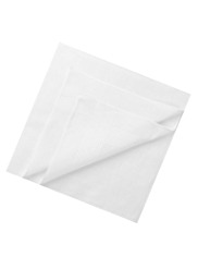 2 Pack Pure Cotton Anti-Bacterial Handkerchiefs