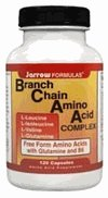 BCAA, Branched Chain Amino Acids supplements 120 Capsules