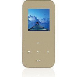 Ematic 4 GB MP3 Video Player with 1.5 LCD, FM Radio, Recorder (Gold)
