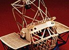 Keck Telescope Paper Model Kit