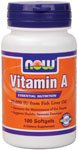 Now Foods Vitamin A 25000 Iu, 100 Sgels