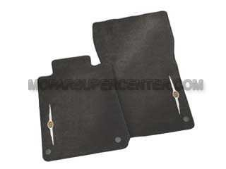 Fits Chrysler Crossfire 2004-2008 Sedona Suede Dash Board Cover Mat Black