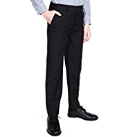 Autograph Straight Leg Striped Suit Trousers