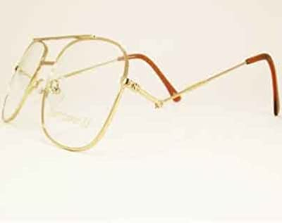 Snooker Spectacle Frame with tilting side arms gold coloured metal