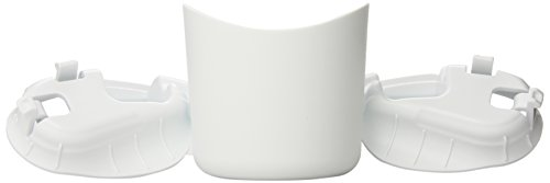 Clek Foonf Drink Thingy Cup Holder, White front-130465