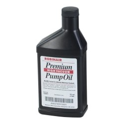 Robinair (ROB13119) Premium High Vacuum Pump Oil - 16 oz. Case of 12