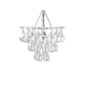 Vino Wine Glass Chandelier Pendant Lamp