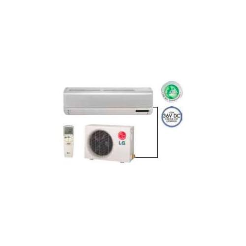 LG LS093HE 9000 BTU 115V Single Zone Cool/Heat Pump Ductless Mini Split System