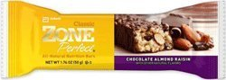 Zone Perfect Nutrition Bars Chocolate Almond Raisin (Pack of 12)
