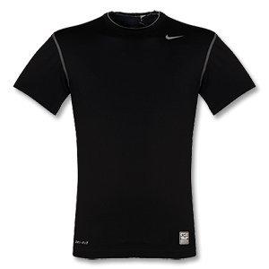 NIKE Pro Tee-shirt pour Homme De Corps Manches Courtes, Noir, XL