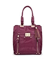 M&S Collection Turn Lock Tote Bag