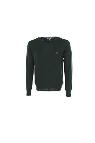 Maglia Uomo Henry Cotton's S Verde 90008 01 96654 Autunno Inverno 2016/17