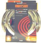 "Range Kleen 11920-4X Heavy-Duty Chrome ""B"" Series Drip Pans, 4-Pack - Quantity 1 Range Parts & Accessories"