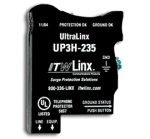 Ultralinx-66 Block Protec 235V Clmp,160Ma Ptc,Ind Lts,T1/Isdn-By Itw Linx