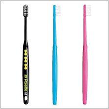 EX Palette パレット M 12本 ハンドルカラー3色 TEEN 専用歯ブラシキャップ付き