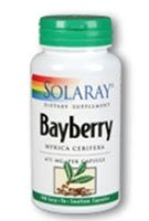Solaray Bayberry Bark Of Root Capsules, 475 Mg, 100 Count