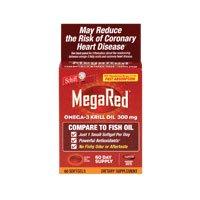 Megared, Omega-3 Krill Oil, 60 Sgel ( Multi-Pack)