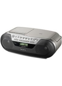 Sony CD Player with Cassette and Radio