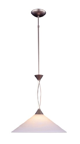 Capital Lighting 4432PN 1 Light Pendant Light Polished Nickel
