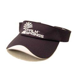 Palm Springs Adjustable Golf Visor Navy