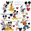Disney Mickey & Minnie Mouse and Friends Peel & Stick Wall Decals