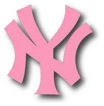 share facebook twitter pinterest qty 1 2 3 4 qty 1   6Pink Yankees Logo