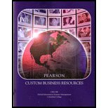 img - for Pearson Custom Business Resources (Global Information Systems Management) book / textbook / text book