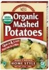 Edward & Sons, Organic Mashed Potatoes, Home Style, 3.5 oz (100 g)