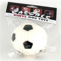 Coastal Rascals Vinyl Dog Toy Soccer Ball