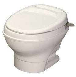 Thetford 31647 Aqua Magic V Parchment Low Hand Flush