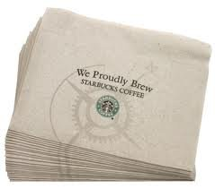 Starbucks Napkin 20-Boxes Of 300-Napkins Club Pack