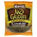 Nanas Cookie Company Nana's Cookie No Gluten Chocolate 3.5 oz Chocolate 12 Cookies