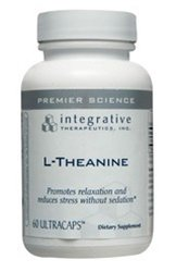 Integrative Therapeutics L-Theanine, 60 Vcaps