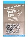 Moore Screw Eyes medium pack of 12 by Moore
