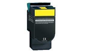 Mti © C540H2Yg Compatible Yellow Laser Toner Cartridge (Standard Yield: 2K) For Lexmark C540, C540N, C543, C543Dn, C544, C544Dn, C544Dtn, C544Dw, C546, C546Dtn, X543, X543Dn, X544, X544Dnx, 544Dtn, X544Dw, X544N, X546, X546Dtn, X548, X548De, X548Dte