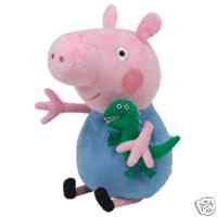 Peppa Pig George TY Buddy, plush toys (Approximately 12