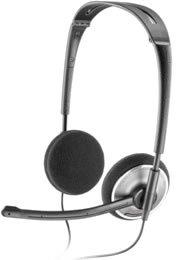 Plantronics - Fold Flat Usb Stereo Headset, Skype Cert