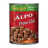 Alpo Prime Cuts In Gravy Homestyle With Lamb & Rice Dog Food 13.2 Oz (Pack Of 24)