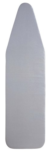Household Essentials Standard Ironing Board Replacement Pad and Cover, Silver Silicone Coated