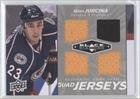 Milan Jurcina New York Islanders (Hockey Card) 2010-11 Upper Deck Black Diamond Quad Jerseys #Qj-Mj