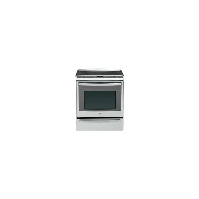 GE PS920SFSS Profile 30 Stainless Steel Electric Slide In Smoothtop Range   Convection
