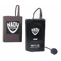 Nady 351 Video Wireless Lavalier System, With 351Vr Receiver, Wlt 15 Lavalier Transmitter With Omni Condenser Mic & Audio Cable
