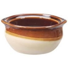 Vertex Osc-10-Cb Brown Accessories 10 Oz. Onion Soup Crock - 24 / Cs