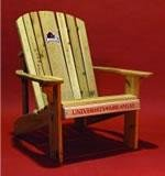 University of Arkansas Logo Adirondack Chair 23 inch Seat Width